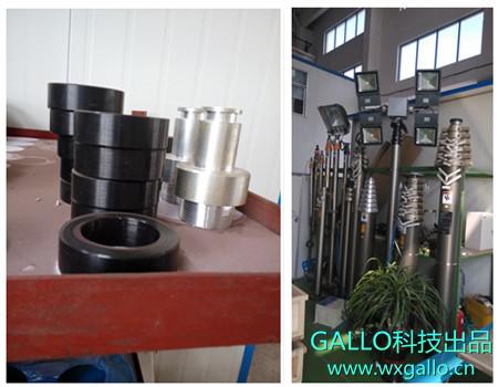 c2 型 (1)应用范围:    用于防止旋转的椭圆气动升降杆(气缸)的密封.图片